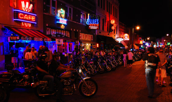 motorcycle bike night