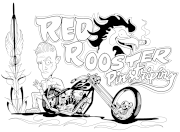 Red Rooster Pinstriping