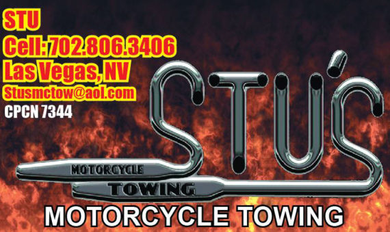 Stu's Motorcycle Towing